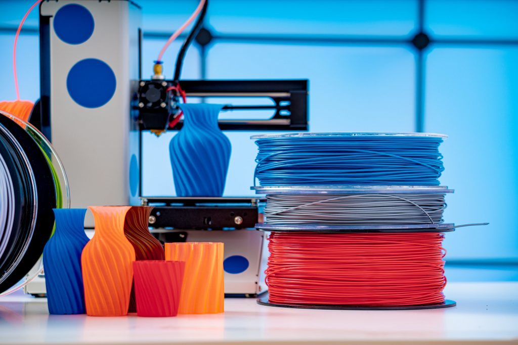 3D Printer Plastic filament for 3D printer and printed products